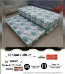 Título do anúncio: BI CAMA SOLTEIRO-PELMEX _ENTREGA GRÁTIS