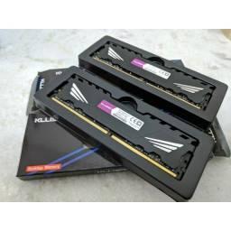 Título do anúncio: Memoria Ram DDR3 8gb 1600MHz Kllisre Pc - Entrego e Aceito Cartões
