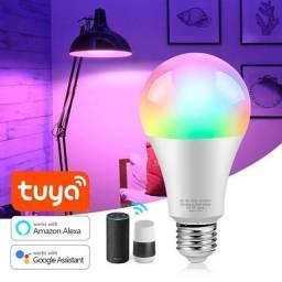 Smart Lâmpada RGB  Wi-fi (Novas)