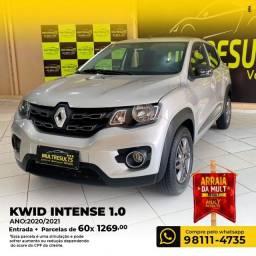 Renault Kwid KWID INTENSE 1.0 FLEX 12V 5P MEC. FLEX MANUAL