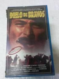 Fita Vhs Filme Duelo De Bravos, Dublado, Clássico do Western Faroeste