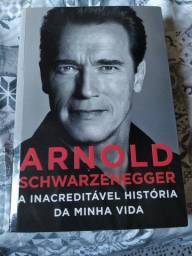 Livro Arnold schwarzenegger a inacreditável história da minha vida