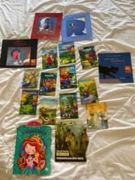 Lote 17 livros infantis