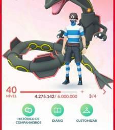 Título do anúncio: Conta pokémon Go