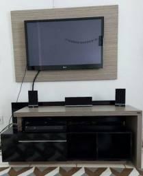 Rack + painel de tv até 42 da VIGGORE (aparelho de som e tv não inclusos)