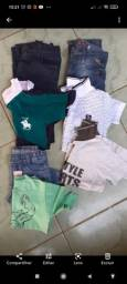 Título do anúncio: Lotinho de roupas infantil