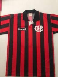 Camisa Athletico Paranaense 1996 Rhumell Oficial - G