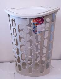 cesto de roupa 40 litros branco