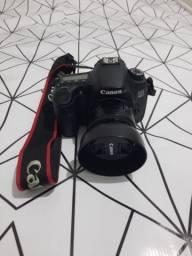 Câmera Canon 60D + Lentes, flash e acessorios