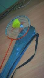 Raquete badminton Nassau nova