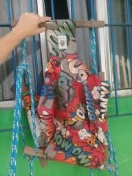 Balanço infantil de tecido conservado