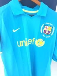Camisa do Barcelona comemorativa dos 50 anos Campnou