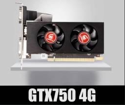 Título do anúncio: Placa de Video GTX 750 4GB - Entrego e Aceito Cartôes