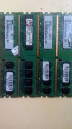 pentes de memória ddr2 1gb para desktop