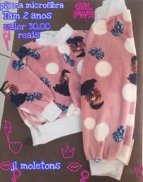 Pijamas quentinhos para o inverno