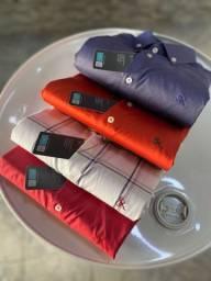 Camisas sociais sergi romero manga curta