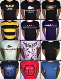 Camisetas com tecido importado