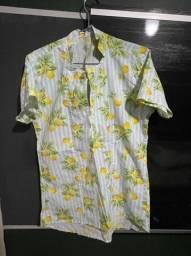 Camisa Masculina Limões Sicilianos