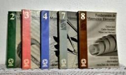 Fundamentos da Matemática Elementar 2ª Edição Volumes 3,8