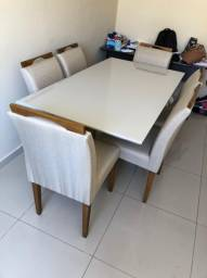 Mesa 6 lugares e cadeiras
