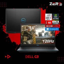 """Lacrado Notebook Gamer Dell G3 i5 10ª 8GB GTx 1650 Ti 512GB SSd PCie NVme Tela 15,6"""" 120Hz"""