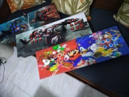 Fliperama Portátil 13k Jogos Arcade Só Ligar Hdmi Tv