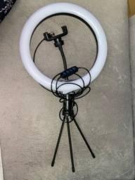 Vendo Iluminador Ring Light 10 Polegadas 26cm C/ Tripé De Mesa