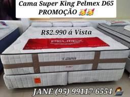 Título do anúncio: CAMA SUPER KING EXCELENCE PROMOÇÃO