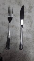 Título do anúncio: Garfo e faca Inox (Valor unitário do produto)