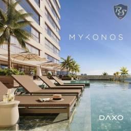 Título do anúncio: Apartamento Frente Mar no Mykonos - 4 Suítes