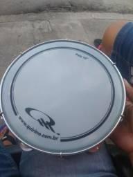 "Pandeiro Quirino Pele 10"""