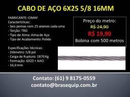 Cabo de Aço 16mm