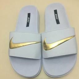 Chinelo Nike Branco Novos