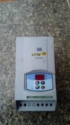 Inversor de frequencia 1cv e 2cv entrada monofasico 220V saida trifasica