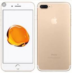 IPhone 7 Plus 128 GB gold semi novo