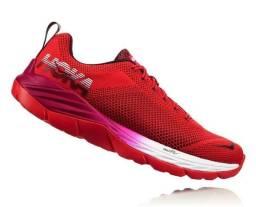 Hoka One One Mach Red - Feminino - 9.5 Usa