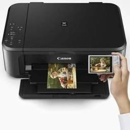 Impressora Canon pixma mg3610 jato-de-tinta-colorida-wi-fi