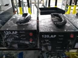 Chupa cabra 120 amperes carregador de bateria
