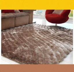 De Fabrica Tapete Silk Shaggy 3D Fendi Waves 2,00m