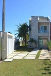 Casas duplex no Eusébio, 4 Suites 2 vagas shopping