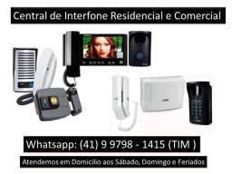 Interfones e Video Porteiro Condominío,residência, lojas, empresas