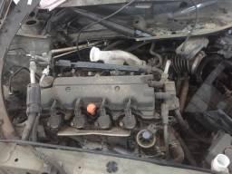 Motor parcial Honda HR-V Exl 1.8 Flex One 2016