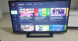Tv Smart Panassonic 32 wi-fi, YouTube, Netflix!!! Novinha!
