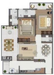 Apartamento à venda, 94 m² por R$ 495.000,00 - Canto do Forte - Praia Grande/SP