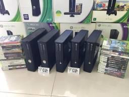 Xbox 360 Slim \Super Slim \ Fat- Promoção - Semi Novo - Com Garantia