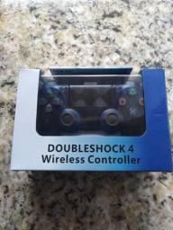Controle para PS4 transparente touch led