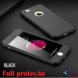 Capinha Frente E Verso 360 Iphone 6 e 6S Preto