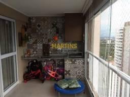 Apartamento 100m² - 3 dormitórios - splendor garden - jardim das industrias