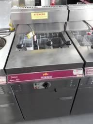 Fritador FGG-03 água e óleo à gás