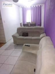 Apartamento com 2 dormitórios à venda, 51 m² por r$ 160.000 - conjunto residencial josé bo